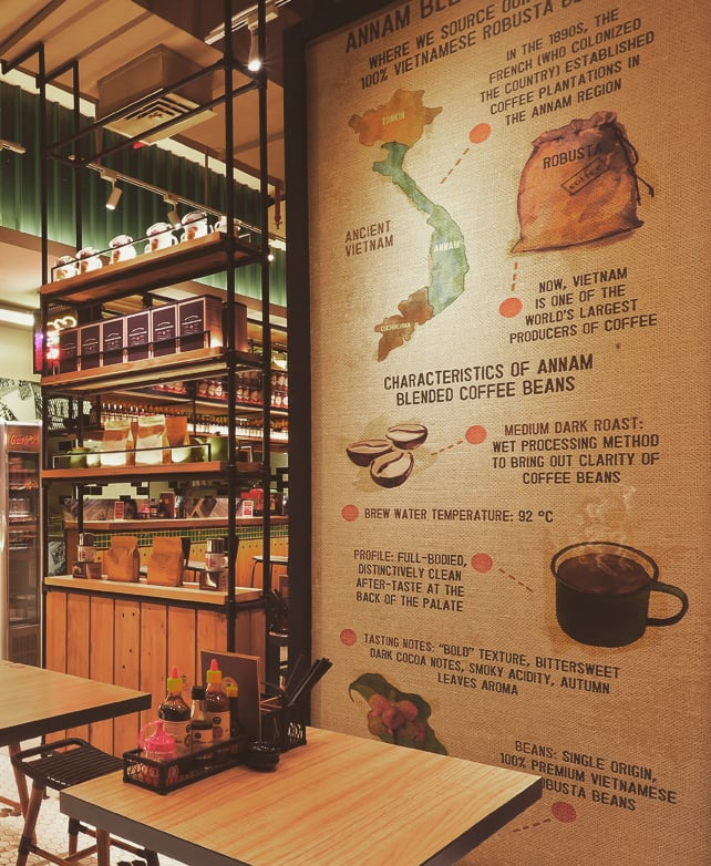Coalition Partners project - Namnam Noodle Bar coffee illustration